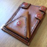 レザークラフト合体財布