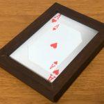 """カードの飾り方""""写真立て編2"""":トレカやテレカ等のカードを写真立てに入れてみよう"""